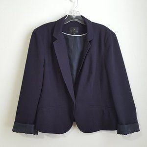 JC Penney Worthington Women's Blazer XL Navy (#1)